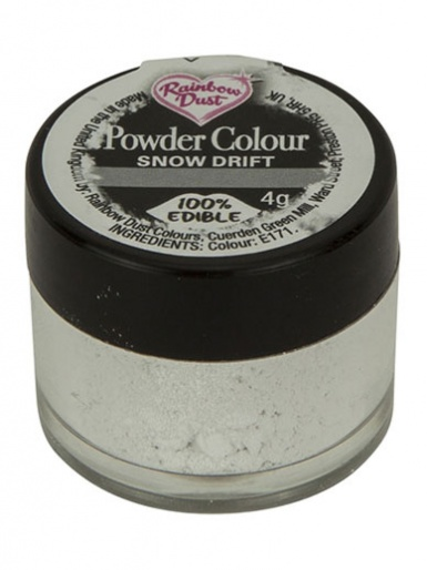 Rainbow Dust - Powder Colour - Snow Drift