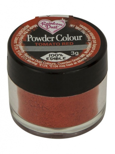 Rainbow Dust - Powder Colour - Tomato Red
