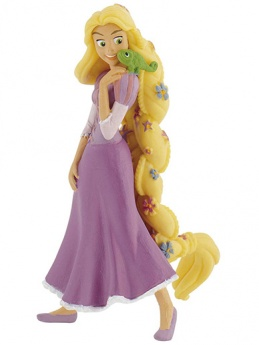 Rapunzel with Flowers from ''Tangled'' - Cake Topper / Figurine