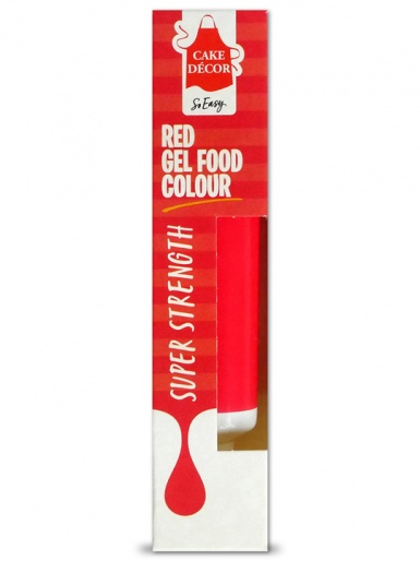 Cake Decor - Food Gel Colour 19g - RED