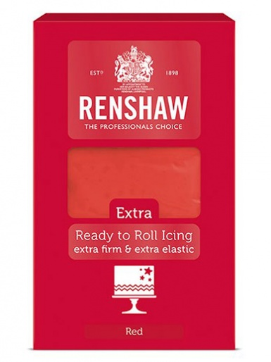 Renshaw EXTRA Ready-to-Roll Icing - Red 1KG