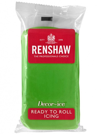 Renshaw Ready To Roll Icing - Lincoln Green 1kg