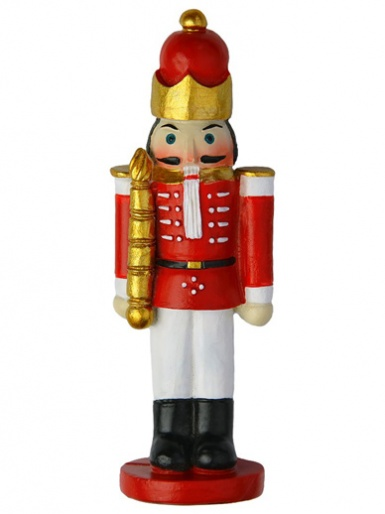 Christmas TOY SOLDIER Resin Cake Decoration