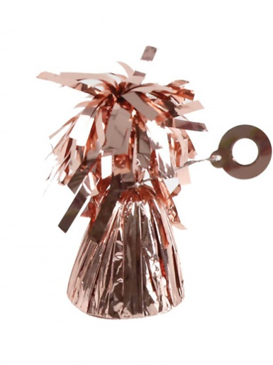 Foil Balloon Weight - Rose Gold