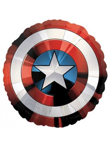 SuperShape - Captain Americas Shield Balloon - 28'' Foil