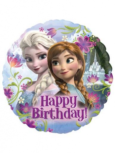 Frozen 2 - Happy Birthday Balloon - 17'' Foil