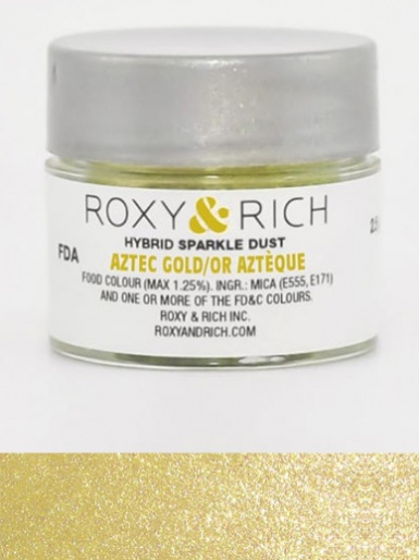 Roxy & Rich Hybrid Sparkle Dust 2.5g - Aztec Gold
