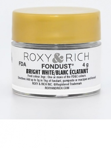 Roxy & Rich Fondust 4g - Bright White