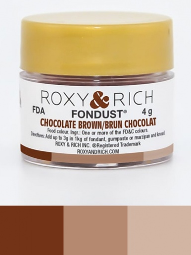 Roxy & Rich Fondust 4g - Chocolate Brown
