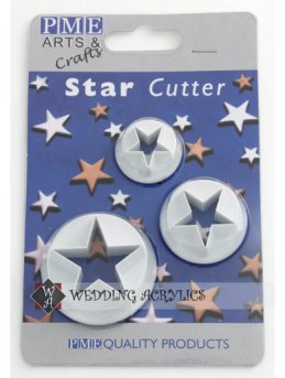 Star Cutter (set of 3)