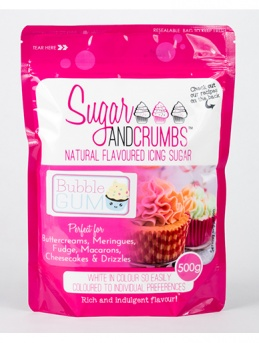 Bubble Gum Icing Sugar 500g