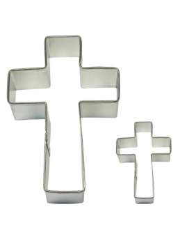 CROSS Cookie & Cake Cutter Set of 2