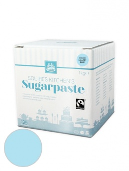 Lullaby Blue Squires Kitchen Fair Trade Sugarpaste 1kg