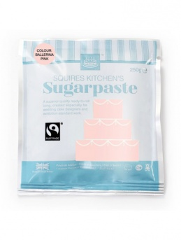 Ballerina Pink Squires Kitchen Fair Trade Sugarpaste 250g