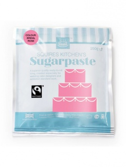 Bridal Rose Squires Kitchen Fair Trade Sugarpaste 250g