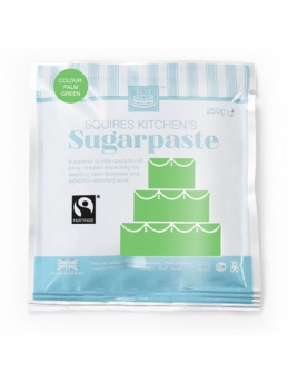 Palm Green Squires Kitchen Fair Trade Sugarpaste 250g