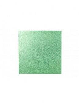 Square Thick Cake Board Drum - Pale Green