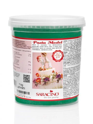 Saracino Modelling Paste (Pasta Model) 1kg - Green