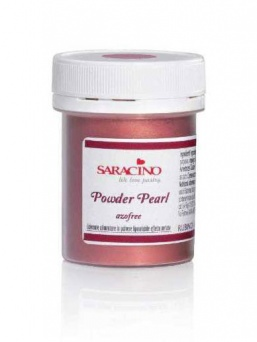 Saracino Powder Colour (Powder Pearl) - Ruby