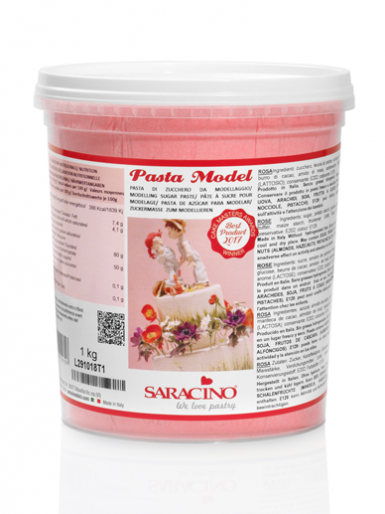 Saracino Modelling Paste (Pasta Model) 1kg - Rose Pink