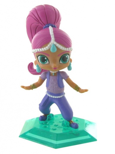 Shimmer from Shimmer & Shine Figure Cake Topper (pink hair)