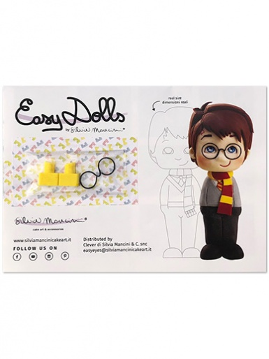 Silvia Mancini Easy Dolls - Tool & Tutorial - Little Boy