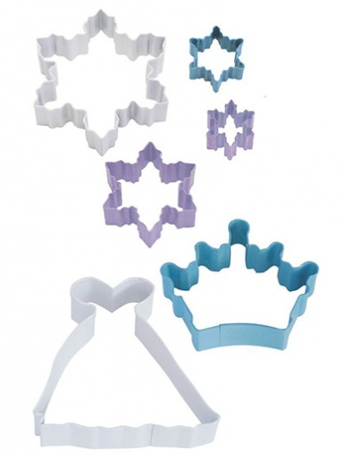 Snow Queen Cutter Set