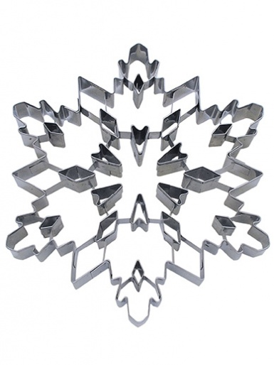 Snowflake Punchout Deluxe Cookie Cutter