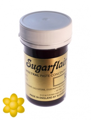 Sugarflair Spectral Paste - Egg Yellow