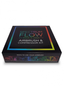Spectrum Flow Air Brush Machine - Black