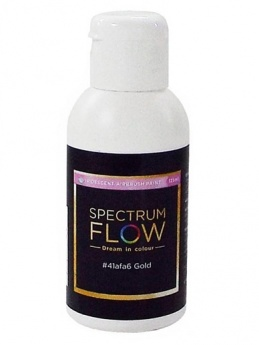 Spectrum Flow - Iridescent Airbrush Colour 125ml - Gold