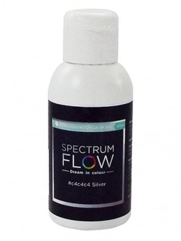Spectrum Flow - Pearlised Airbrush Colour 100ml - Silver