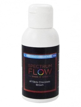 Spectrum Flow - Water Based Airbrush Colour 100ml - Chocolate Brown