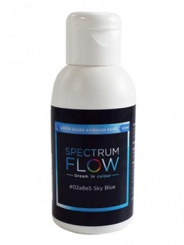 Spectrum Flow - Water Based Airbrush Colour 100ml - Sky Blue