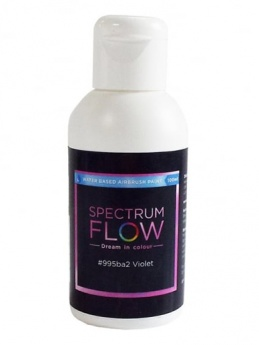Spectrum Flow - Water Based Airbrush Colour 100ml - Violet