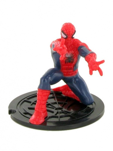 Spider-Man (bent down) Figure Cake Topper