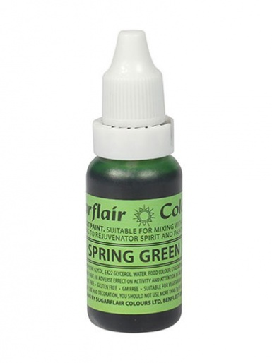 Sugarflair Edible Droplet Paint - Spring Green