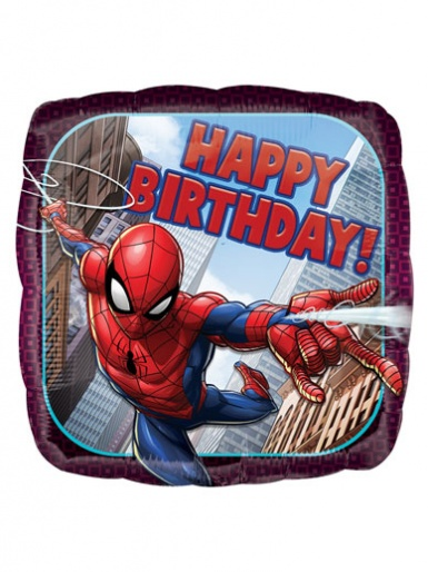 Spider-Man - Happy Birthday Balloon - 17'' Foil
