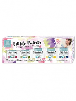 Squires Edible Paint by Natasha Collins - Kit 1