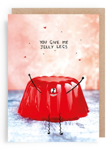 Strawberry Jelly - Valentines Card