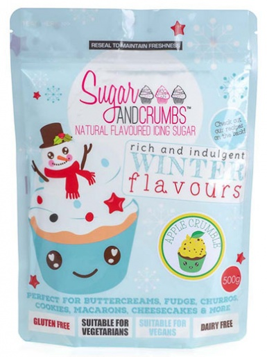 Apple Crumble Icing Sugar 500g
