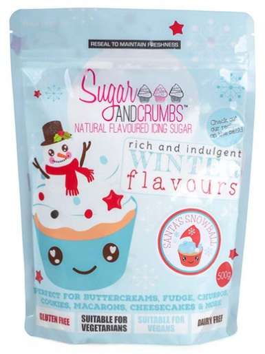 Santa's Snowball - Ginger & White Chocolate Icing Sugar 500g