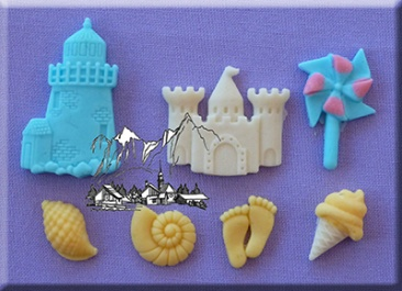 Seaside Silicone Mould