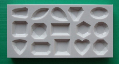 15 Small Gems Silicone Mould