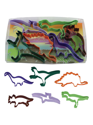 Dinosaur Cutters Set of 6