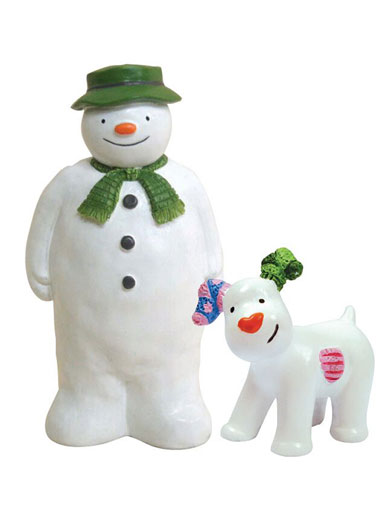 The Snowman & Snowdog Topper Set