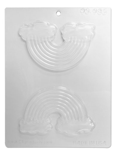 Rainbow Chocolate & Candy Mould