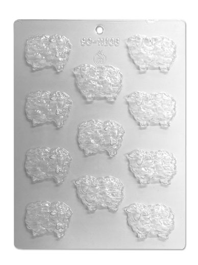 Sheep Chocolate & Candy Mould