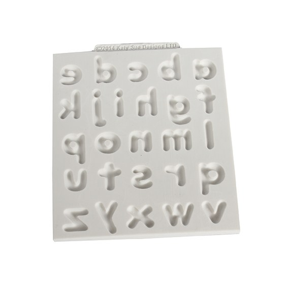 Katy Sue Mould - Domed Alphabet Lower Case