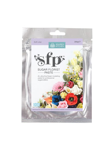 Squires SFP Sugar Florist Paste - Soft Lilac
